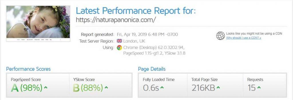 Website Speed and Performance After Optimization